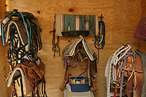 Rock Hill Ranch & Stables Tack Storage